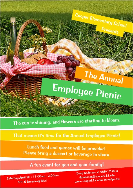 Picnic 2 Club Flyer