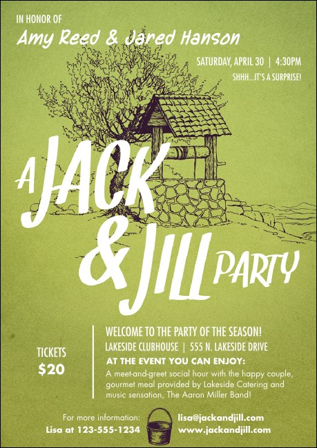 Jack and Jill Club Flyer