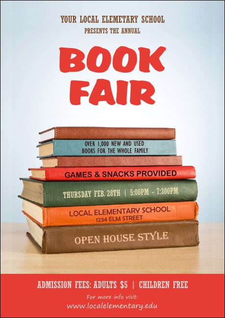 Book Fair Club Flyer