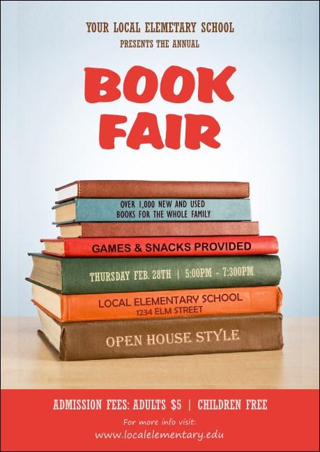 Book Fair Club Flyer